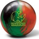 Brunswick Rhino Black-Green-Orange Bowling Ball