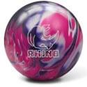 Brunswick Rhino Pink-Purple-White Pearl Bowling Ball