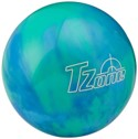 Brunswick Tzone bowling ball in blue