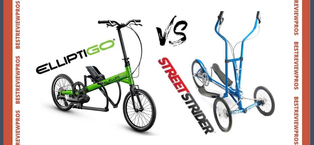 StreetStrider vs ElliptiGO Elliptical Street Bikes