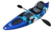BKC RA220 Single Fishing Kayak