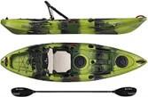 Green Moss Camo - Vibe Yellowfin 100