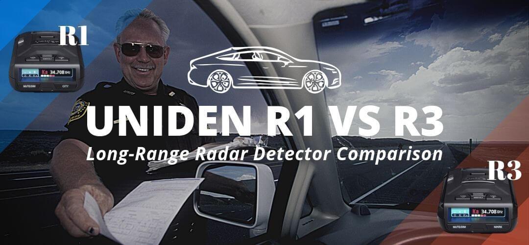 Image Link To:   Uniden R1 vs R3 Radar Detector Comparison