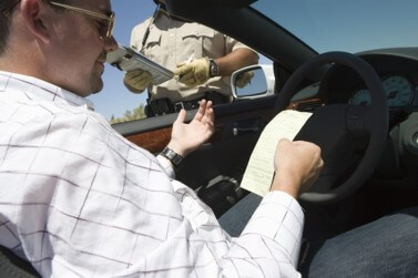 Cop Issues Speeding Ticket