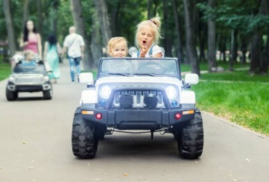 Best electric cars for kids as ride on toys