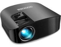GooDee HD Video Projector for Outdoor Movies