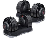 Merax Deluxe 71.5lb Adjustable Dial Dumbbells