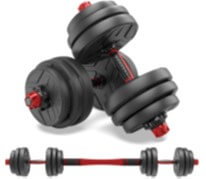 Shanchar Adjustable Free Weights Dumbbell Set