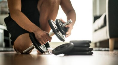 easy to use adjustable dumbbells