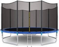 Giantex 15ft Trampoline with Safety Net Enclosure