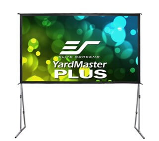 foldable outdoor projector screen