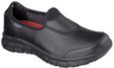 womens skechers work sure track non slip restaurant shoes