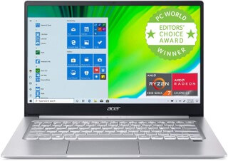 Acer Swift 3 Thin and Light - good e-learning laptop for students