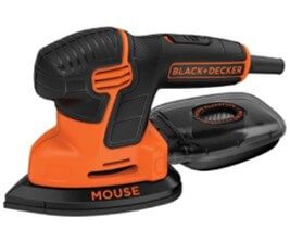 Black and decker mouse detail sander for removing paint