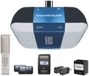Chamberlain B1381 Smart Garage Door Opener with Battery Backup