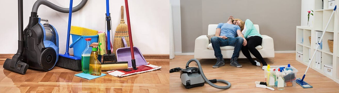 Cleaning products and vacuum cleaner