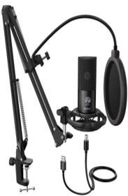 FIFINE Studio Condenser USB Microphone for Computer