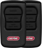 GenieMaster 3-button garage door opener remotes (2-pack)
