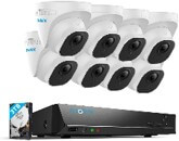 Reolink 4k poe 8 camera security system