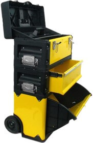 Stalwart portable stackable tool chest