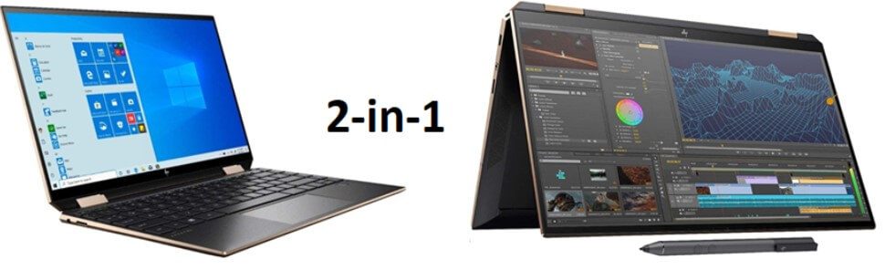 HP Spectre X360 - great laptop for virtual school