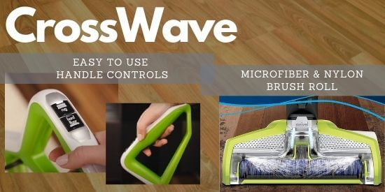 CrossWave Handle Controls and Brush Roll