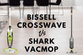 Bissell CrossWave vs Shark VACMOP Compared