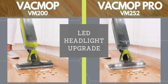 Shark VACMOP PRO LED Headlight Feature