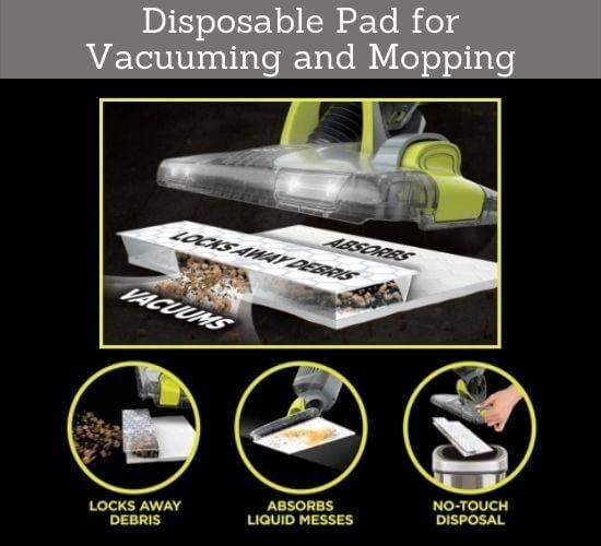 Shark VACMOP Pro Disposable Pad Mops and Vacuums