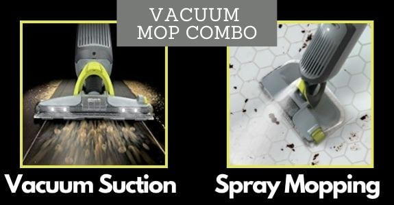 VACMOP Pro vacuum and spray mop all in one